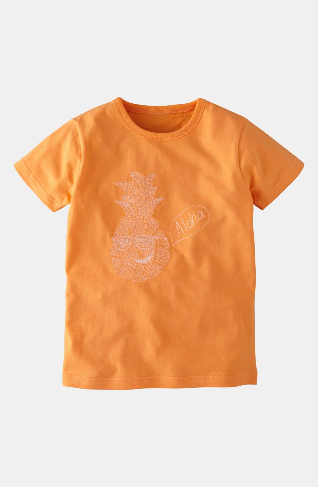 Alternate Image 1 Selected - Mini Boden 'Superstitch' T-Shirt (Little Boys & Big Boys)