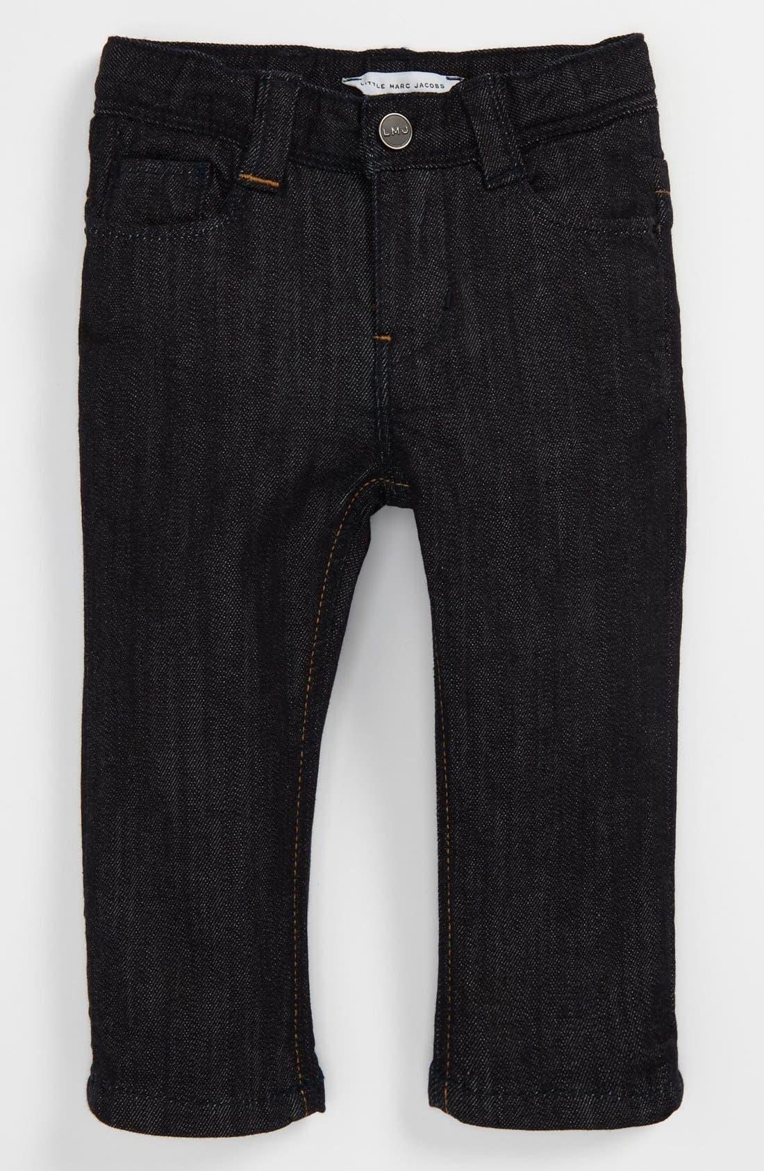 Alternate Image 2  - LITTLE MARC JACOBS Slim Fit Jeans (Toddler)
