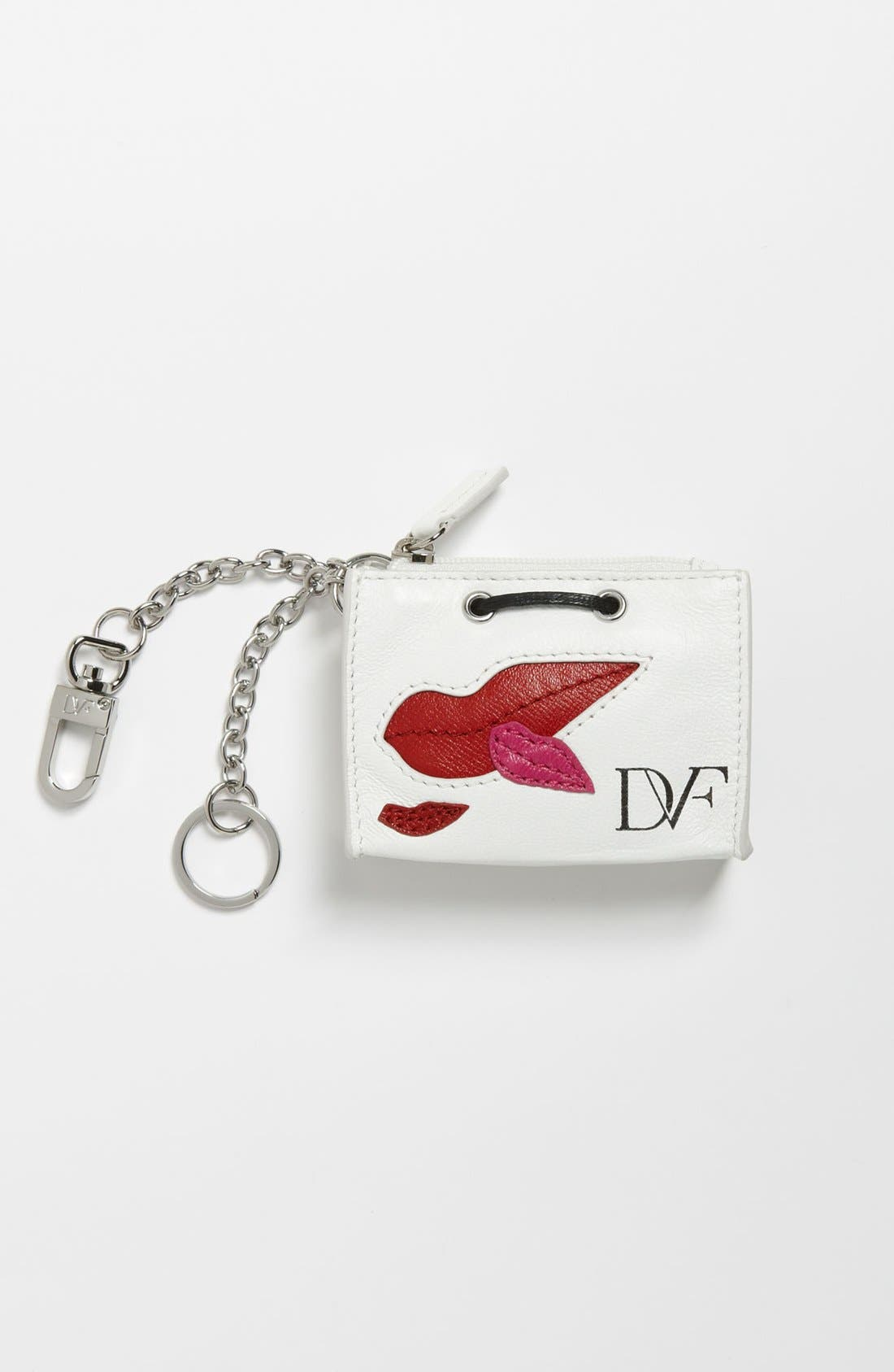Alternate Image 1 Selected - Diane von Furstenberg Shopping Bag Key Fob