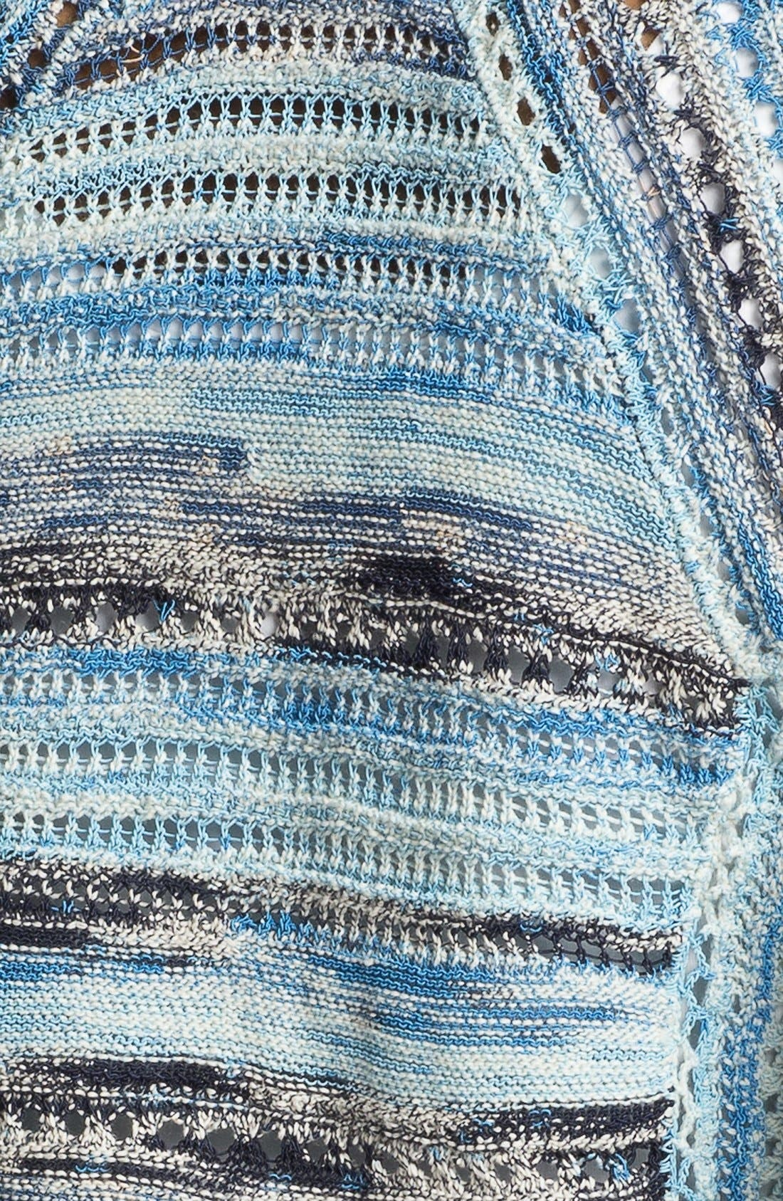 Alternate Image 3  - Nic + Zoe 'Blues' Textured Cardigan