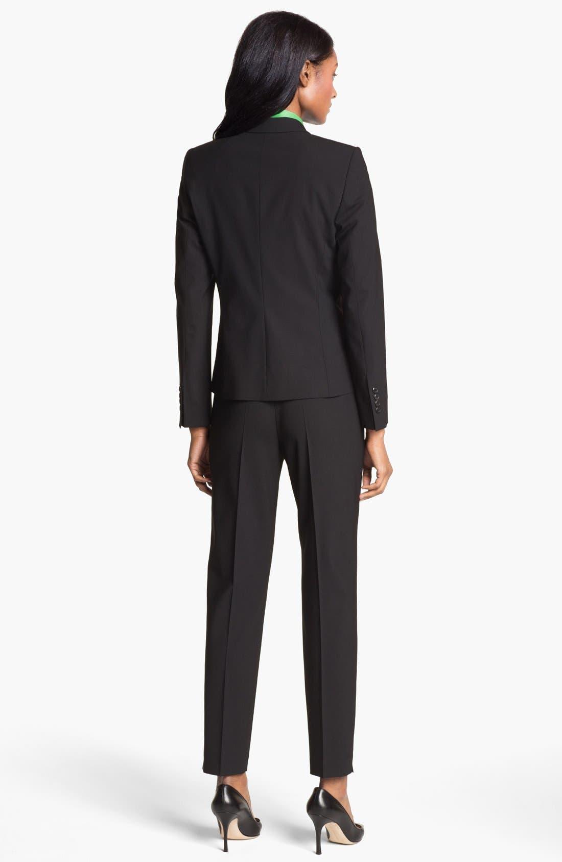 Alternate Image 5  - BOSS 'Tubisa' Stretch Wool Trousers