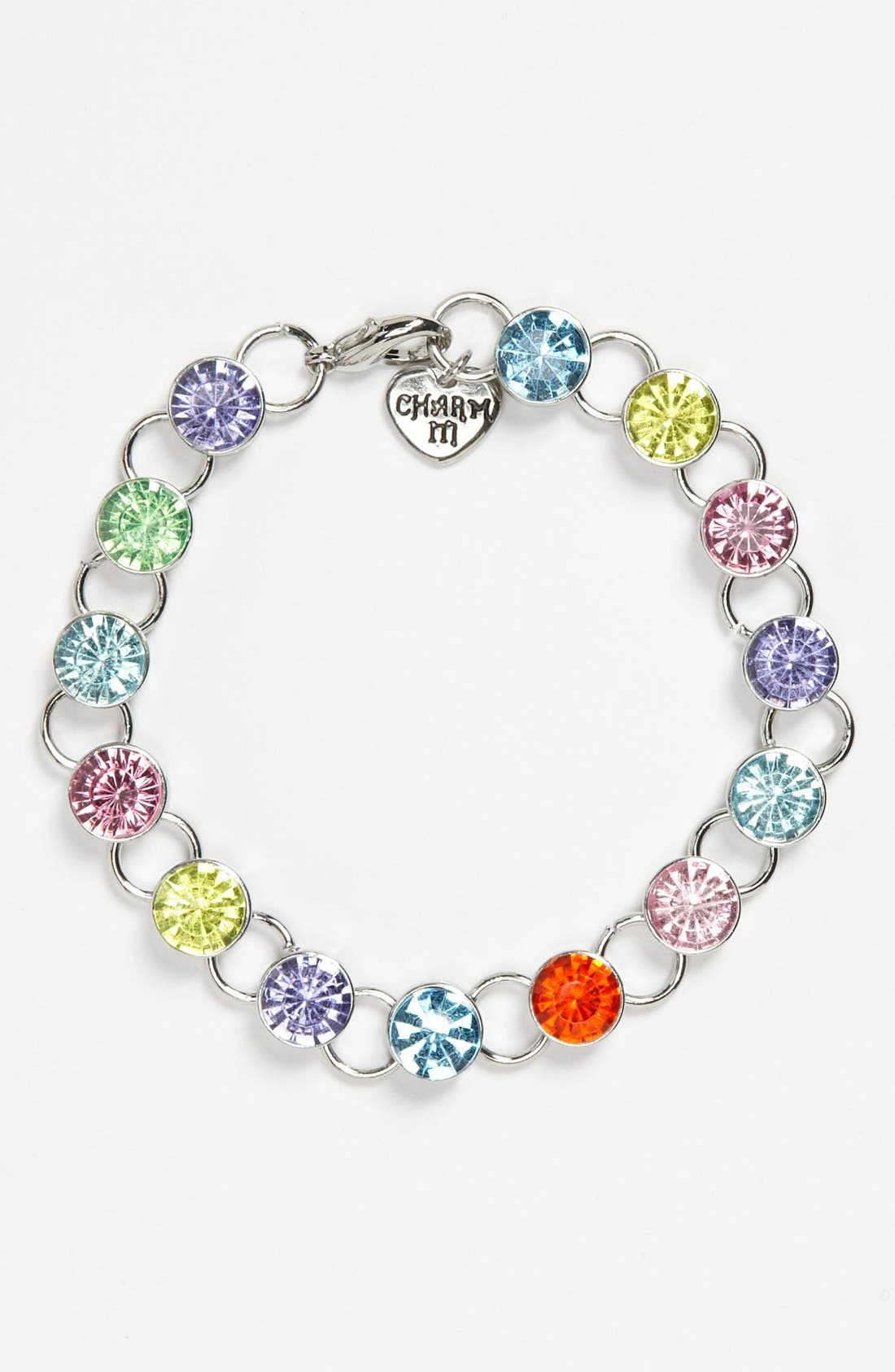 Alternate Image 1 Selected - CHARM IT!® Link Bracelet (Girls)