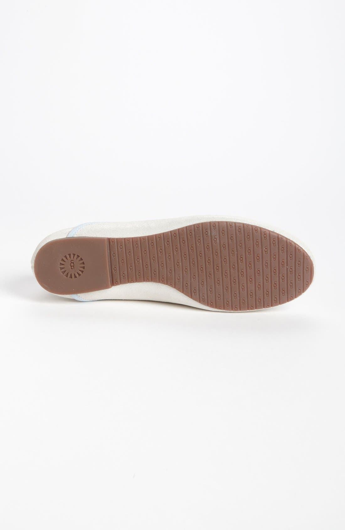 Alternate Image 4  - UGG® Australia 'Antora - I Do' Leather Flat