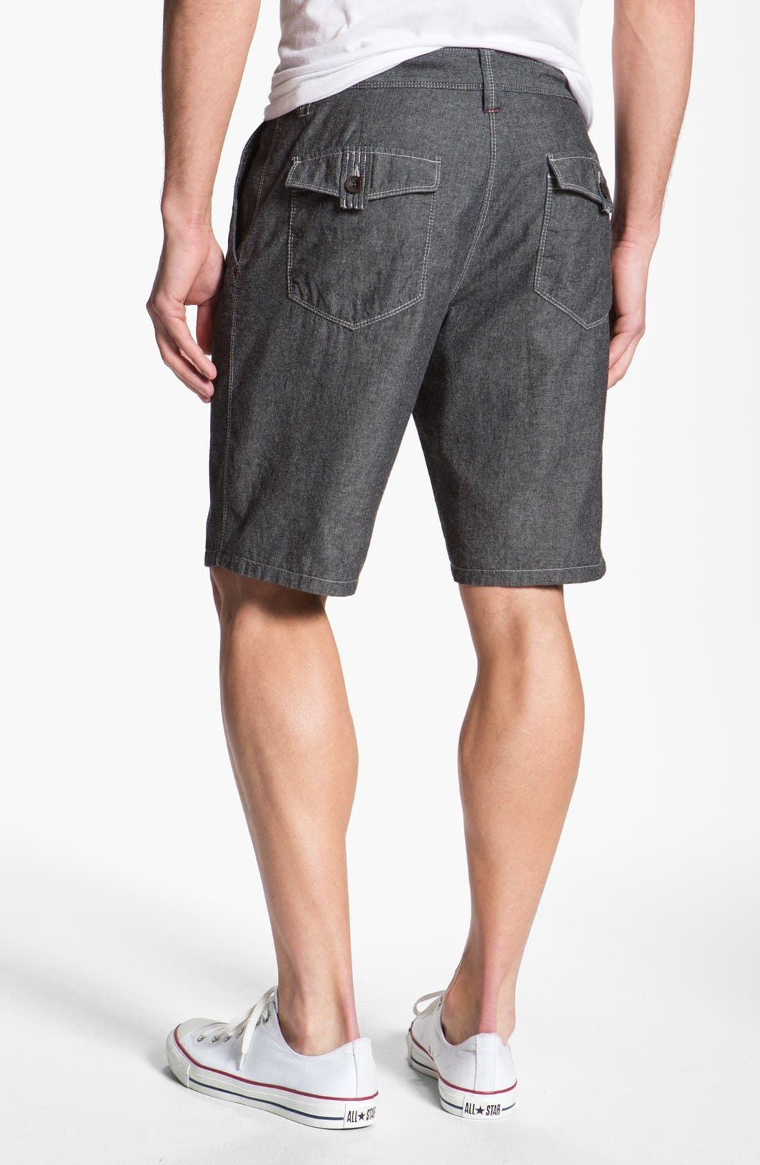 Alternate Image 3  - Howe Reversible Chambray Shorts