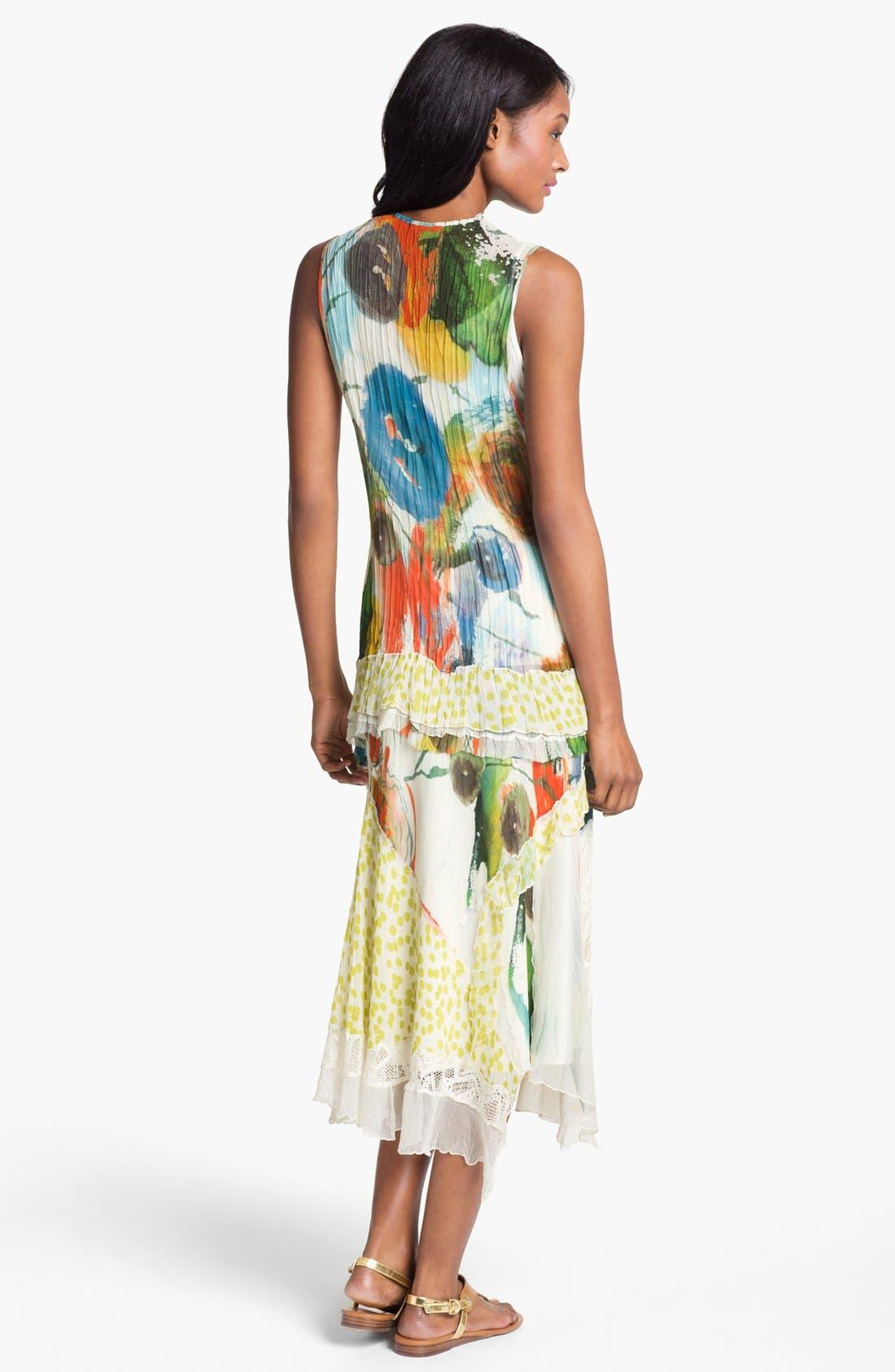 Alternate Image 5  - Komarov Mix Print Maxi Skirt