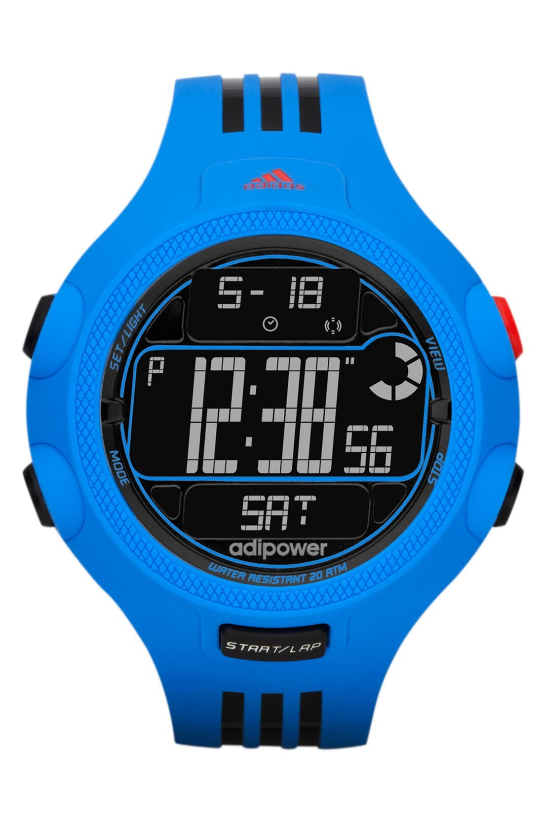 Alternate Image 1 Selected - adidas Performance 'adiPower' Digital Sport Watch, 50mm