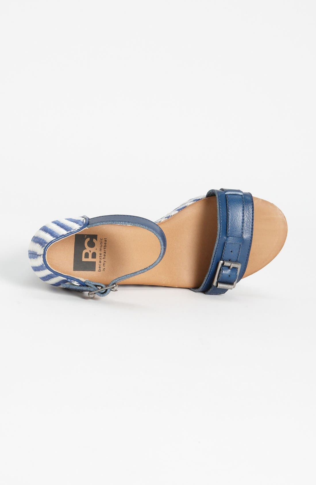 Alternate Image 3  - BC Footwear 'Salt & Pepper' Wedge Sandal