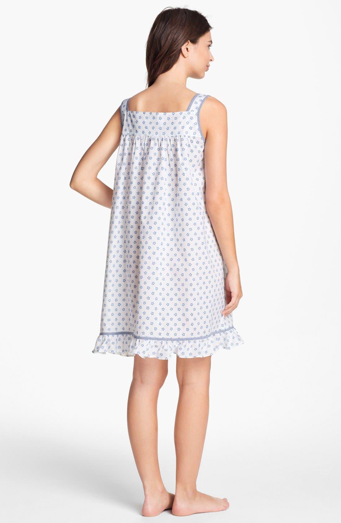 Alternate Image 2  - Eileen West 'Starfish Cove' Short Nightgown