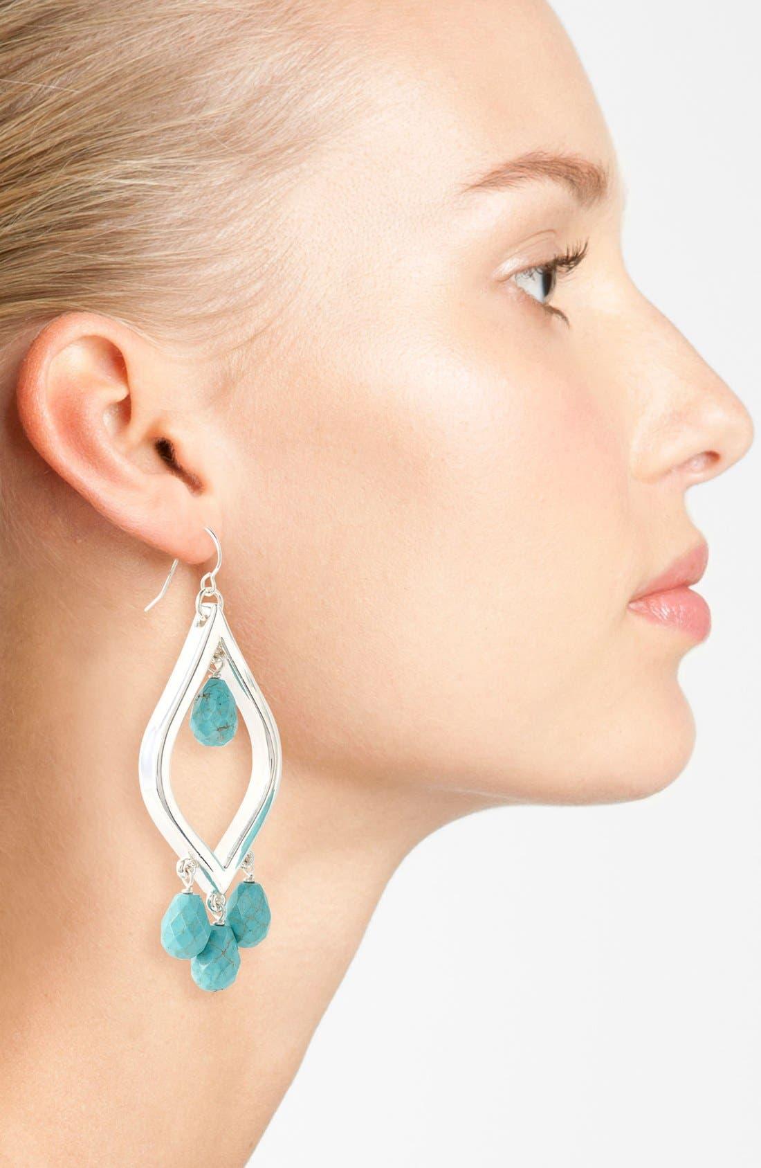 Alternate Image 2  - Simon Sebbag 'Cielo' Chandelier Earrings