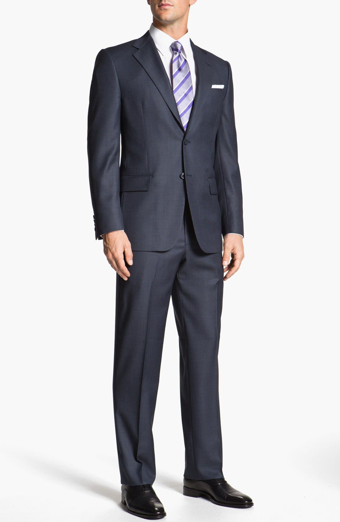 Alternate Image 2  - Joseph Abboud 'Signature Silver' Wool Suit (Online Only)