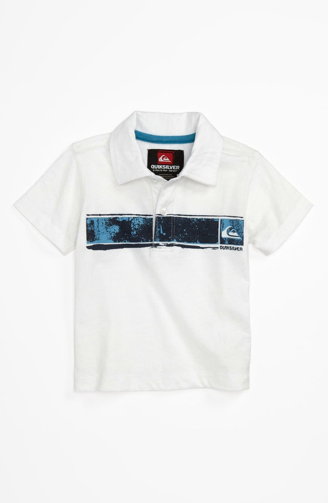 Alternate Image 1 Selected - Quiksilver 'Boston Says' Polo (Toddler)