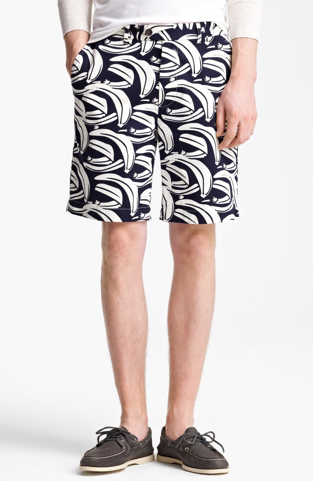 Alternate Image 1 Selected - Jack Spade Banana Print Shorts