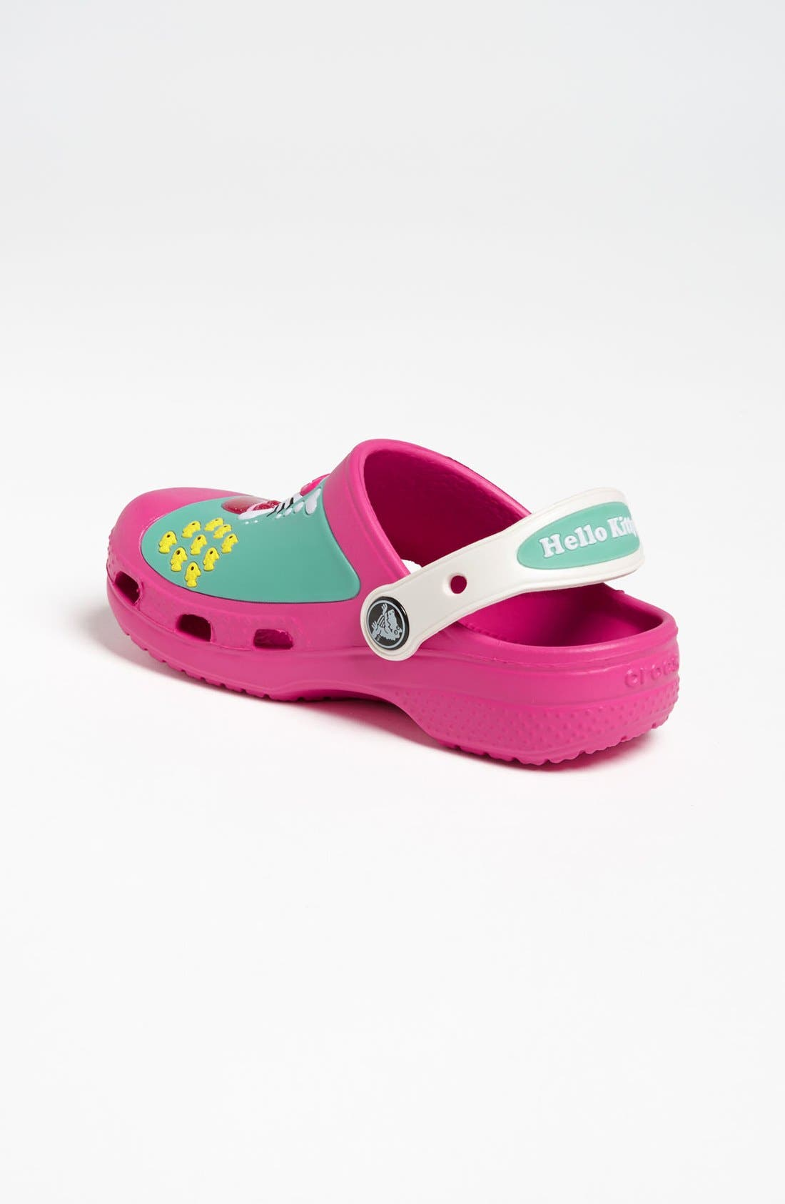 Alternate Image 2  - CROCS™ 'Hello Kitty™' Slip-On (Walker & Toddler)