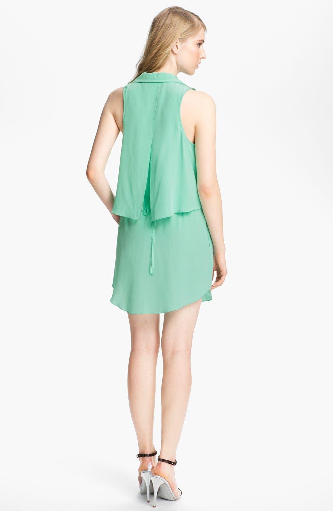 Alternate Image 2  - Tracy Reese Silk Shirtdress