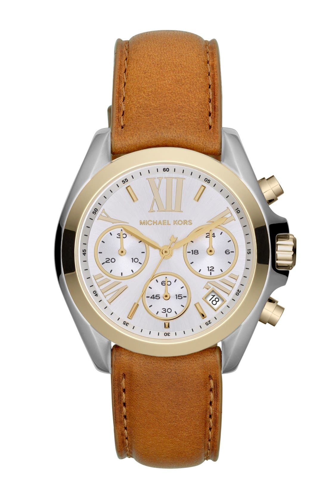 Main Image - Michael Kors 'Bradshaw - Mini' Chronograph Watch, 36mm