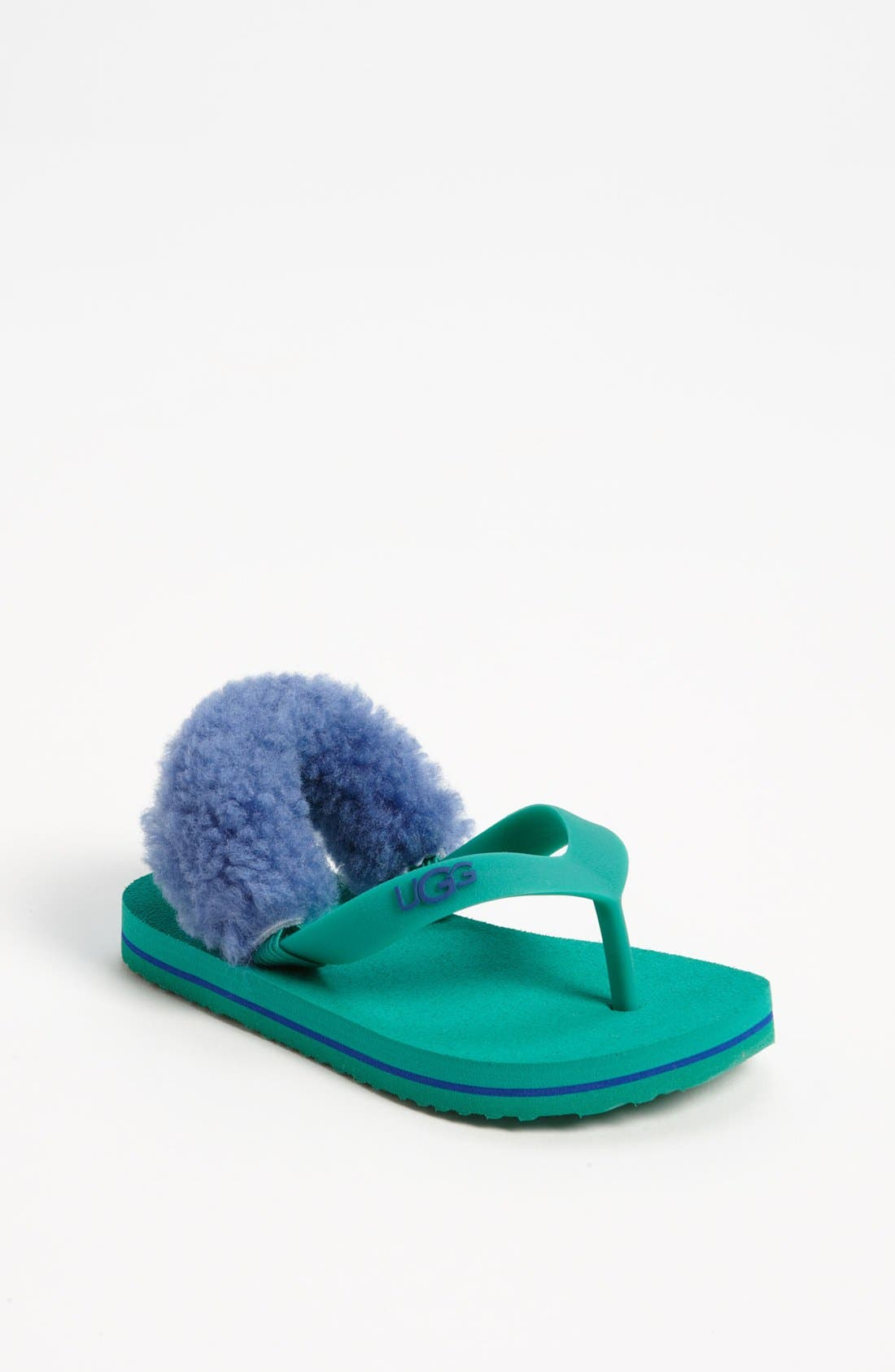Alternate Image 1 Selected - UGG® 'Yia Yia' Sandal (Baby & Walker)