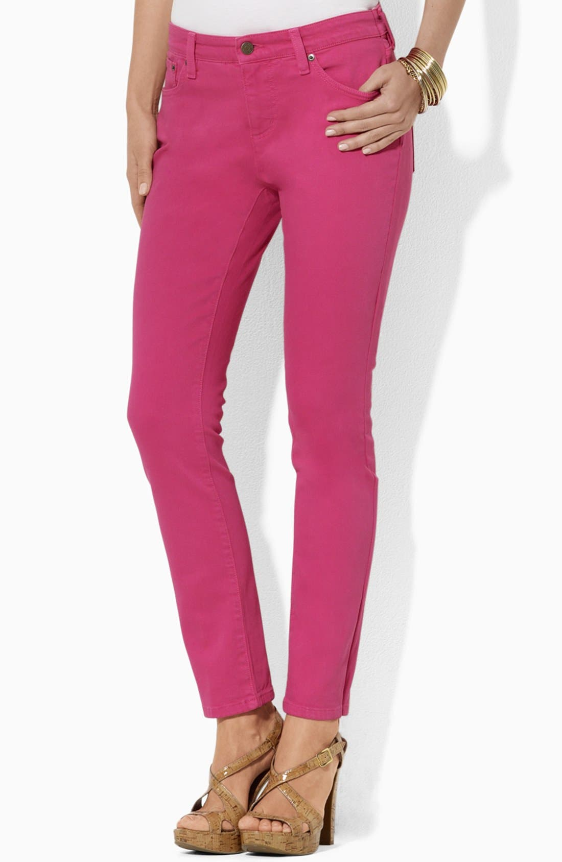 Alternate Image 1 Selected - Lauren Ralph Lauren Modern Straight Leg Ankle Pants