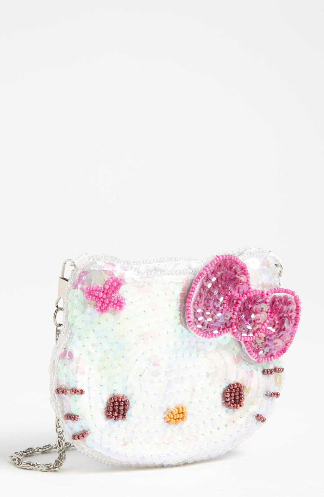 Main Image - Hello Kitty® Sequin Coin Purse