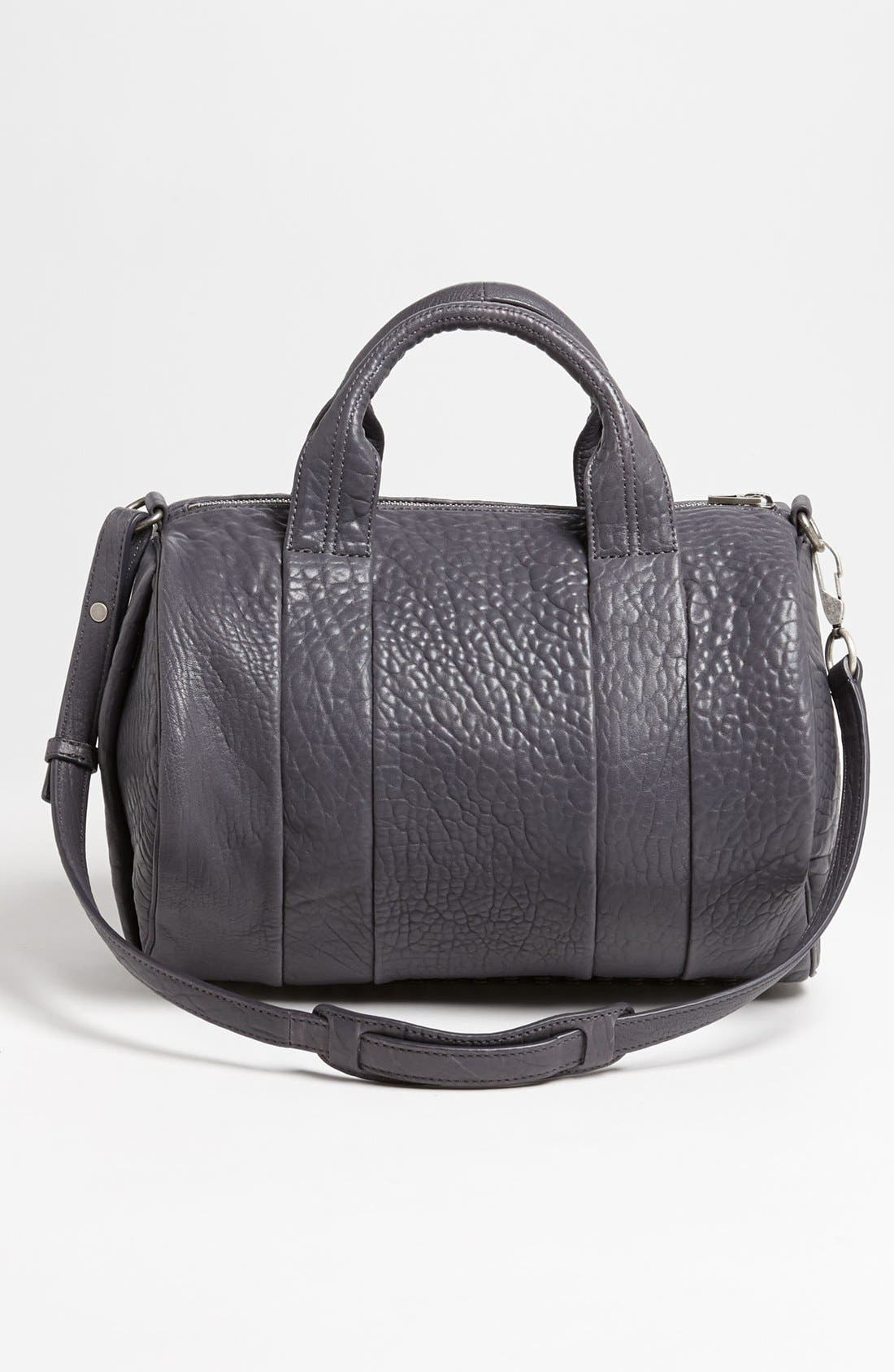 Alternate Image 4  - Alexander Wang 'Rocco - Antique Silver' Leather Satchel