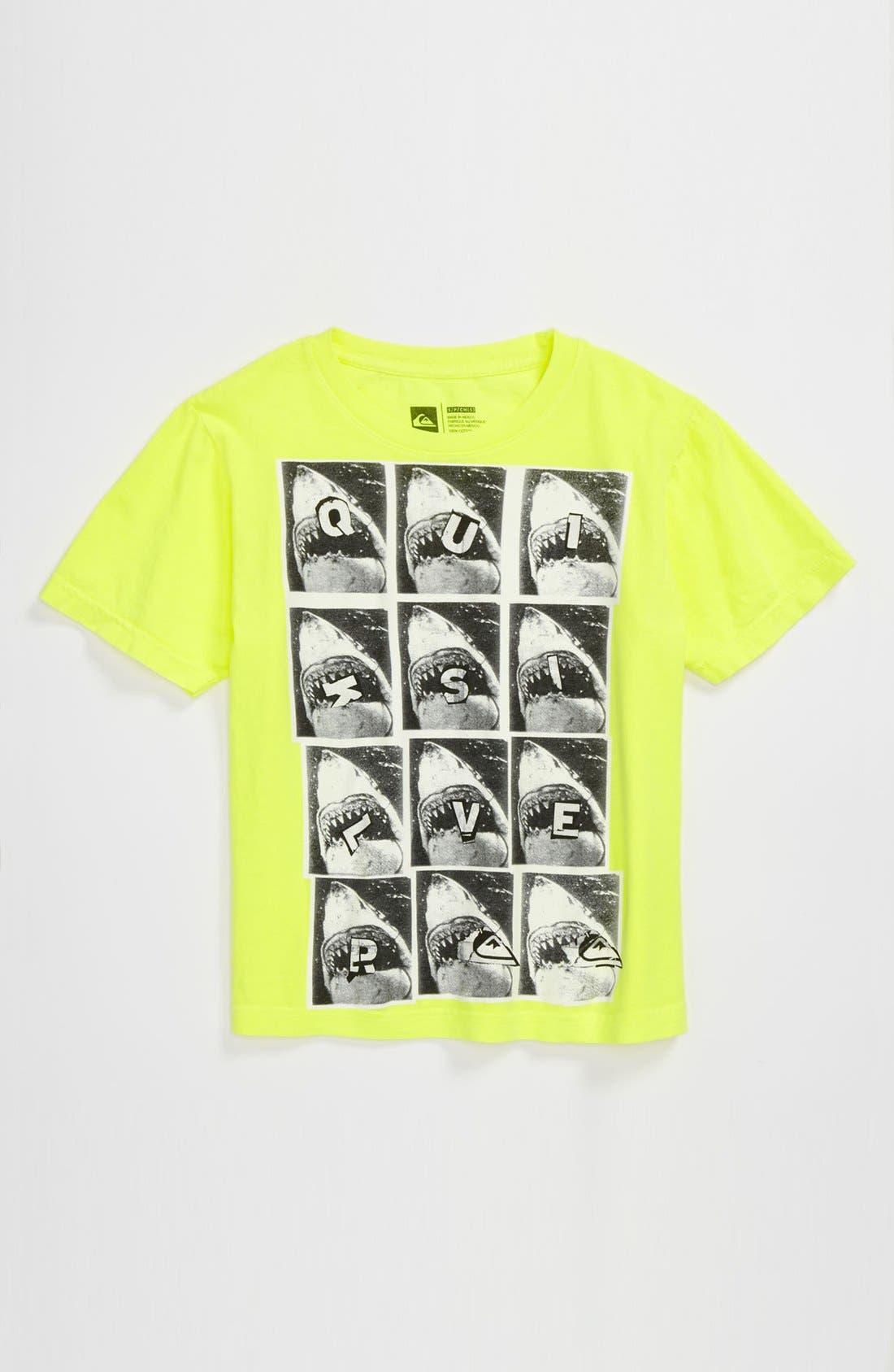 Alternate Image 1 Selected - Quiksilver 'Shark Bait' T-Shirt (Little Boys)