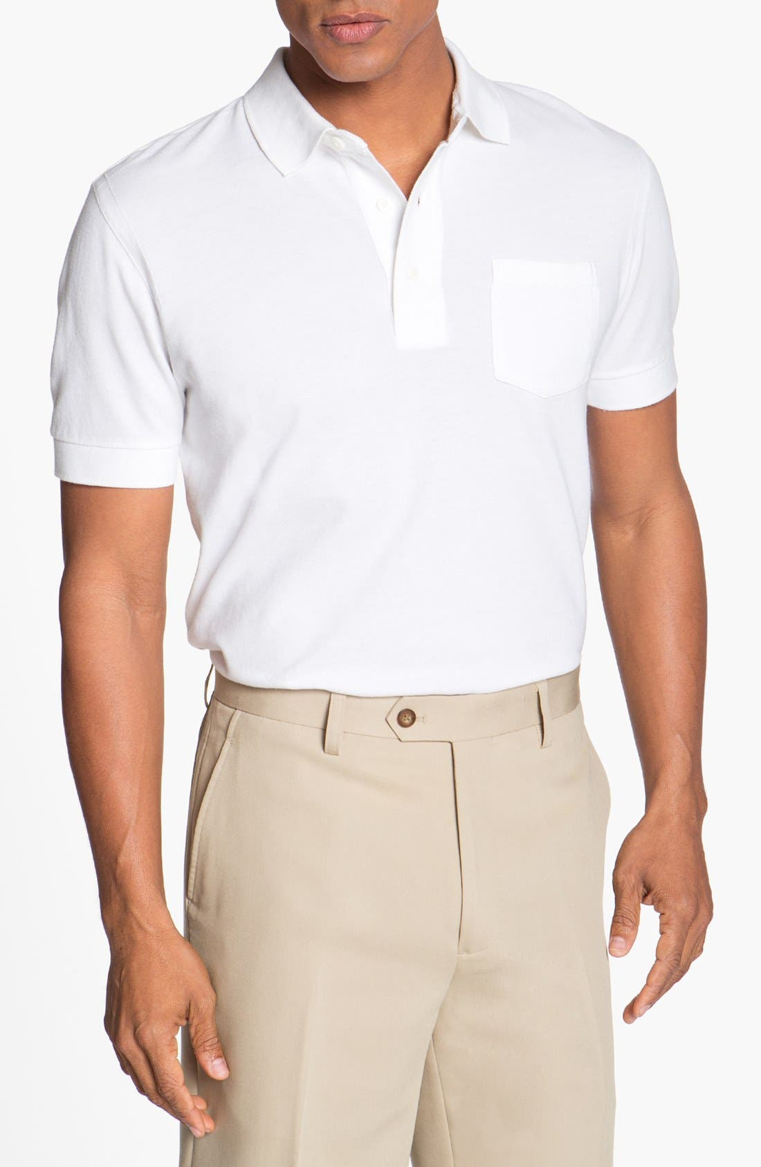 Alternate Image 1 Selected - Cutter & Buck 'Market' Polo (Big & Tall) (Online Only)