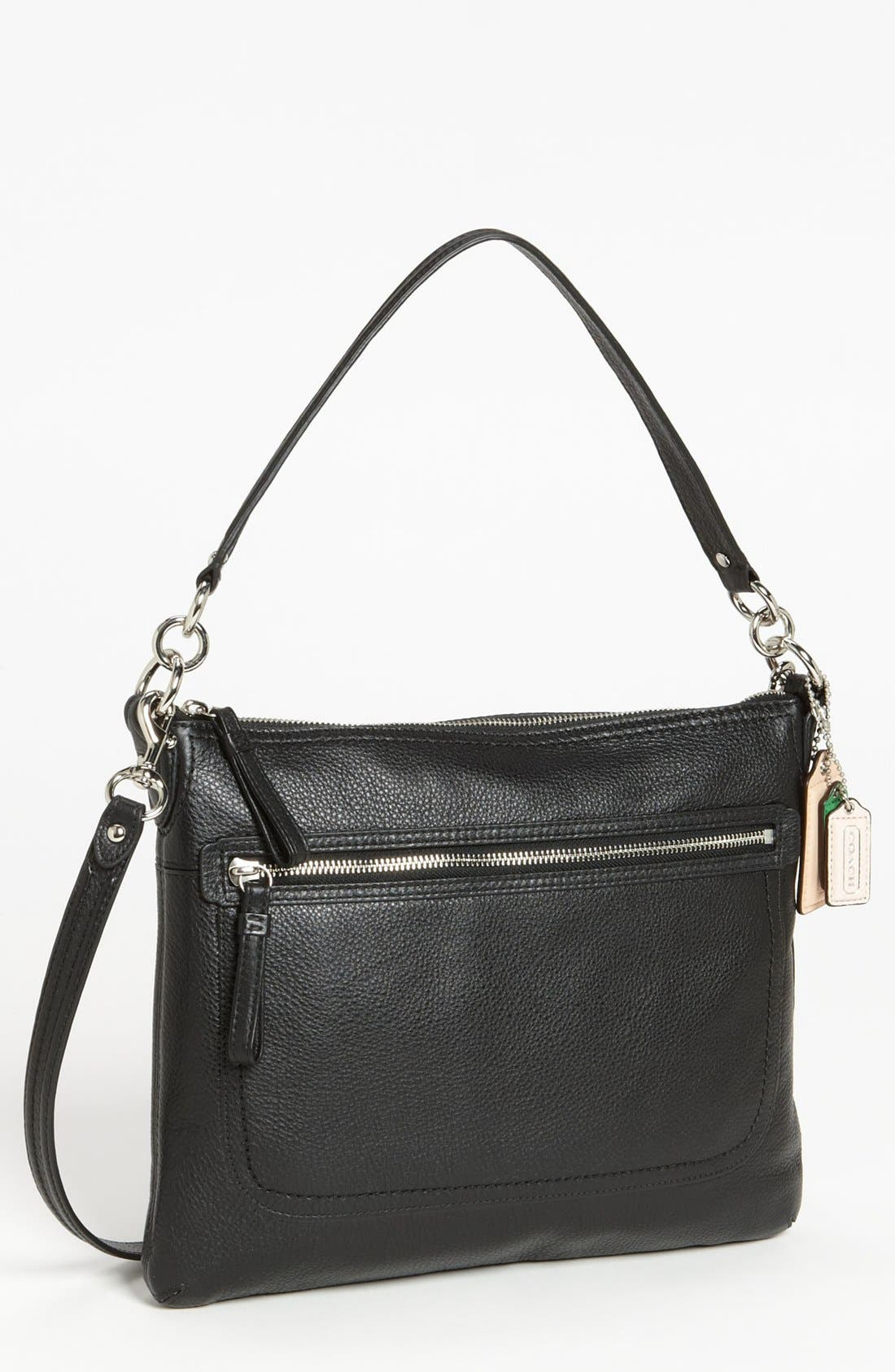Alternate Image 1 Selected - COACH 'Poppy - Perri Hippie' Leather Crossbody Bag, Medium