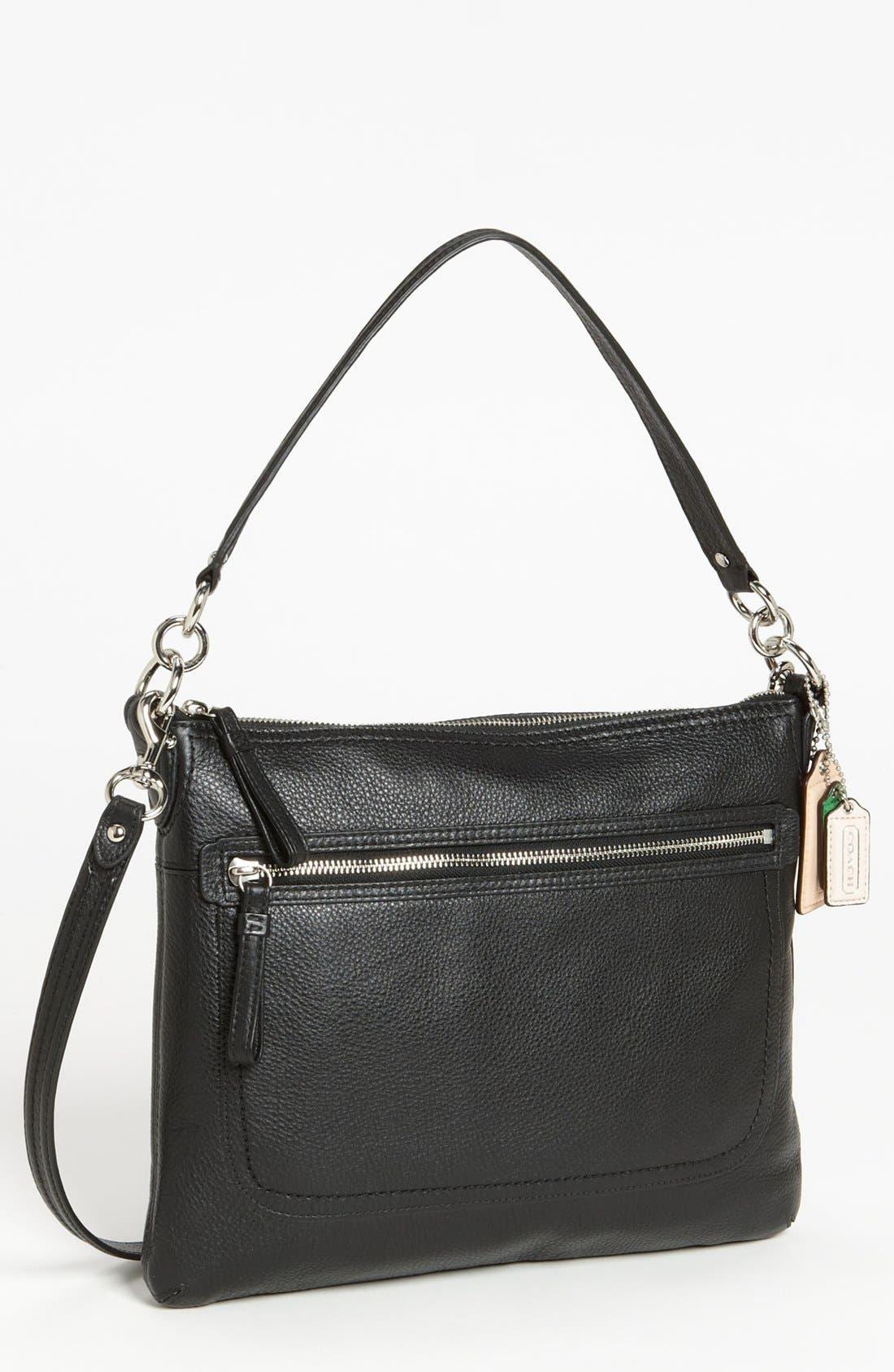 Main Image - COACH 'Poppy - Perri Hippie' Leather Crossbody Bag, Medium