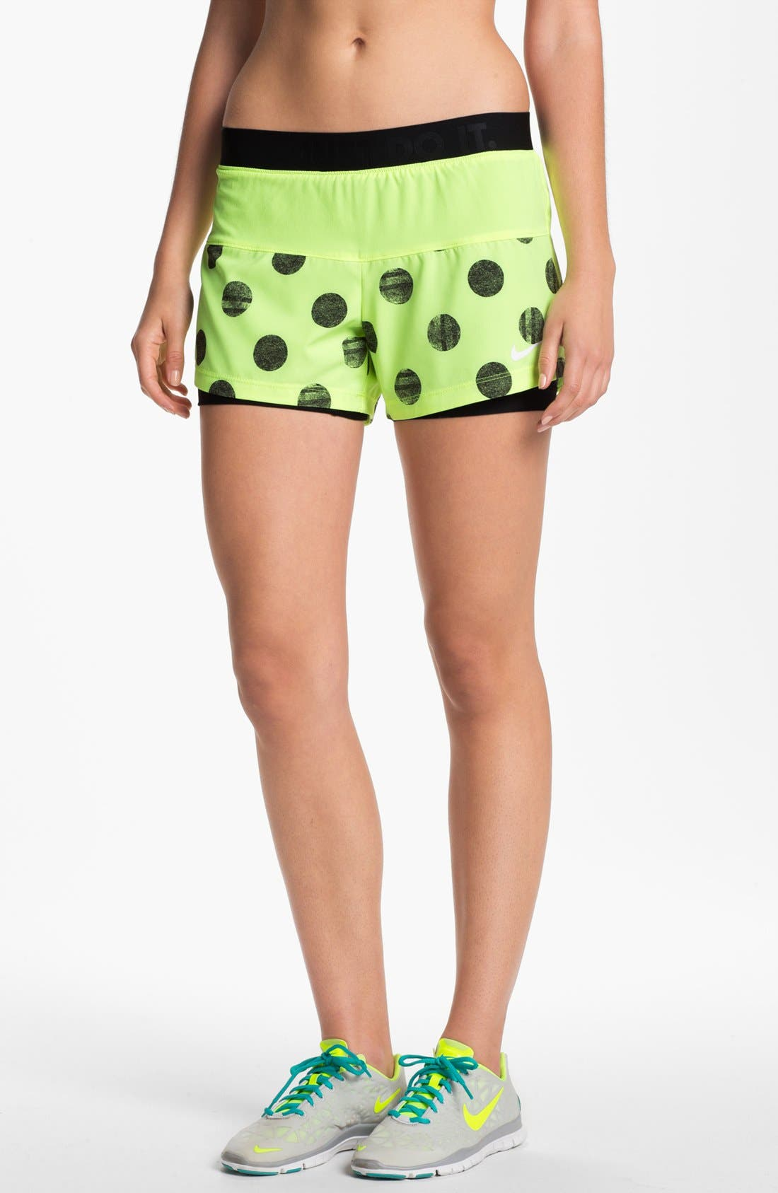 Alternate Image 1 Selected - Nike 'Icon' 2-in-1 Dri-FIT Print Shorts