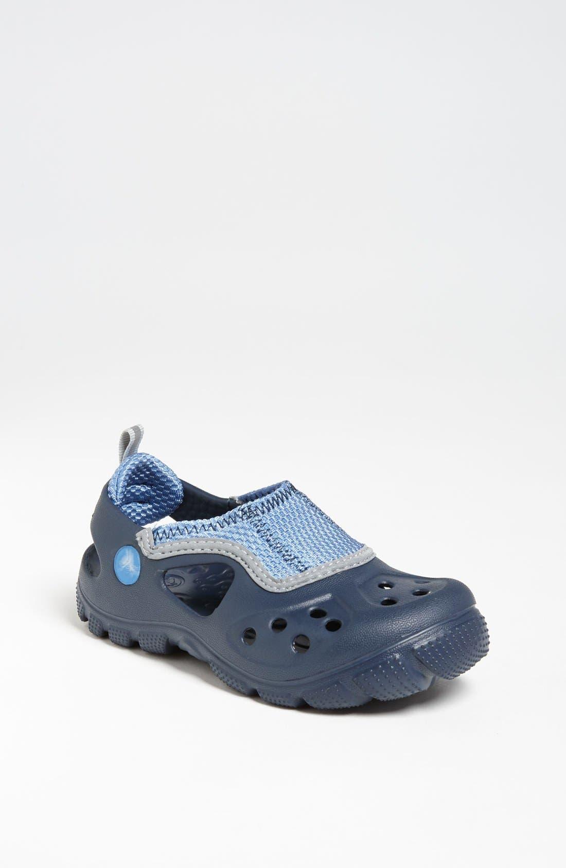 Alternate Image 1 Selected - CROCS™ 'Micah II' Sandal (Walker & Toddler)
