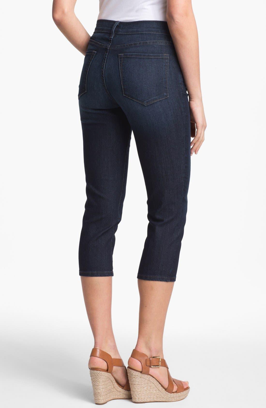 Alternate Image 2  - NYDJ 'Svetlana' Skinny Crop Stretch Jeans