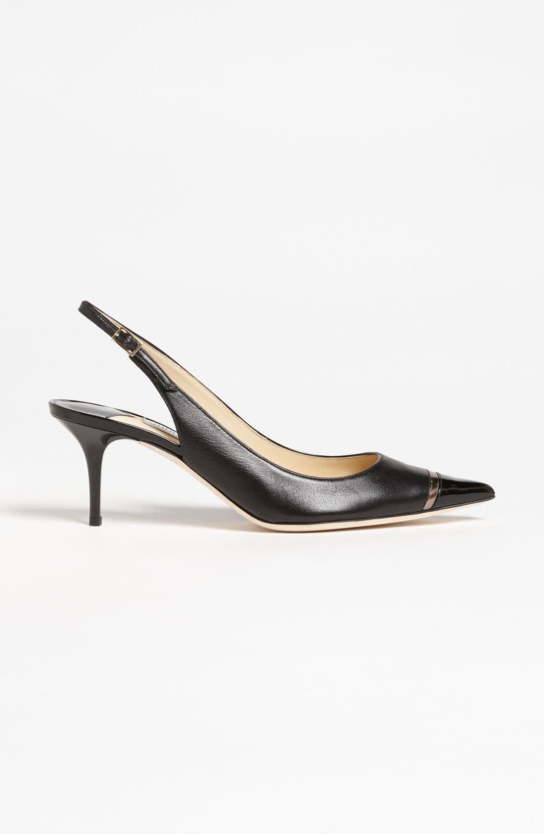 Alternate Image 4  - Jimmy Choo 'Laurel' Cap Toe Slingback Pump