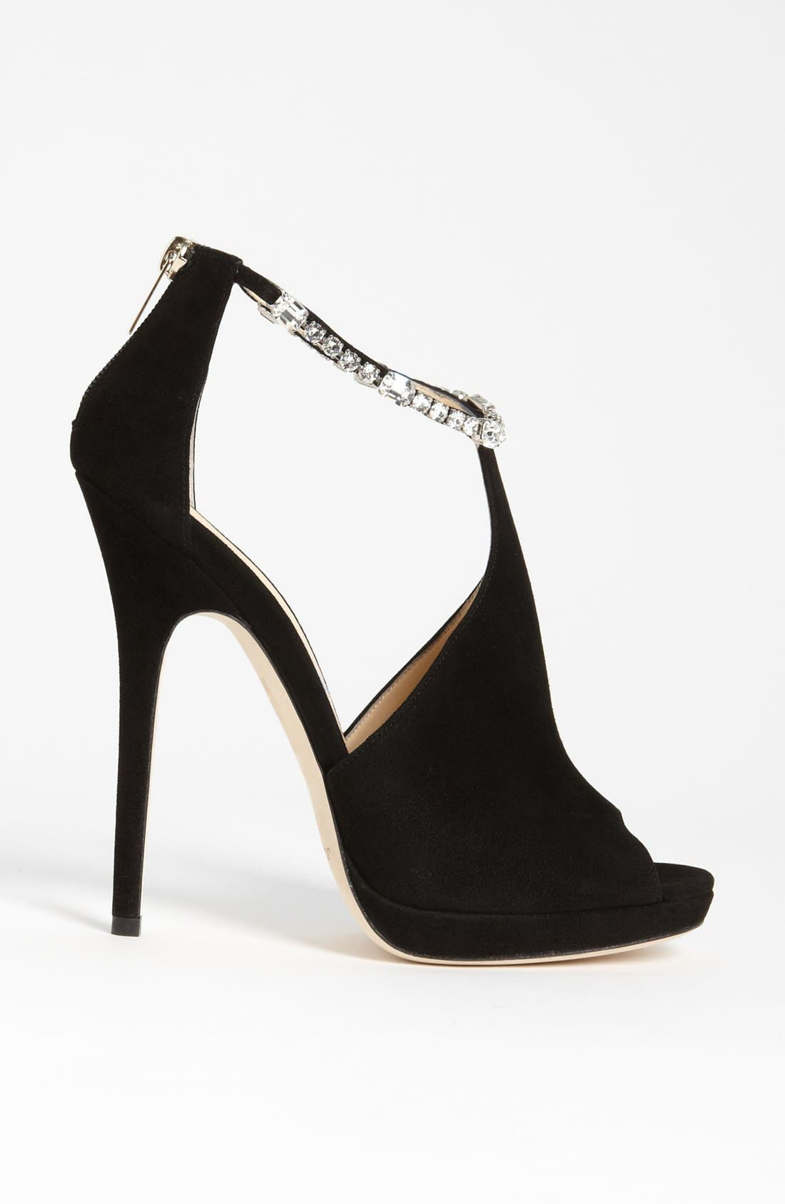Alternate Image 4  - Jimmy Choo Crystral Strap Bootie