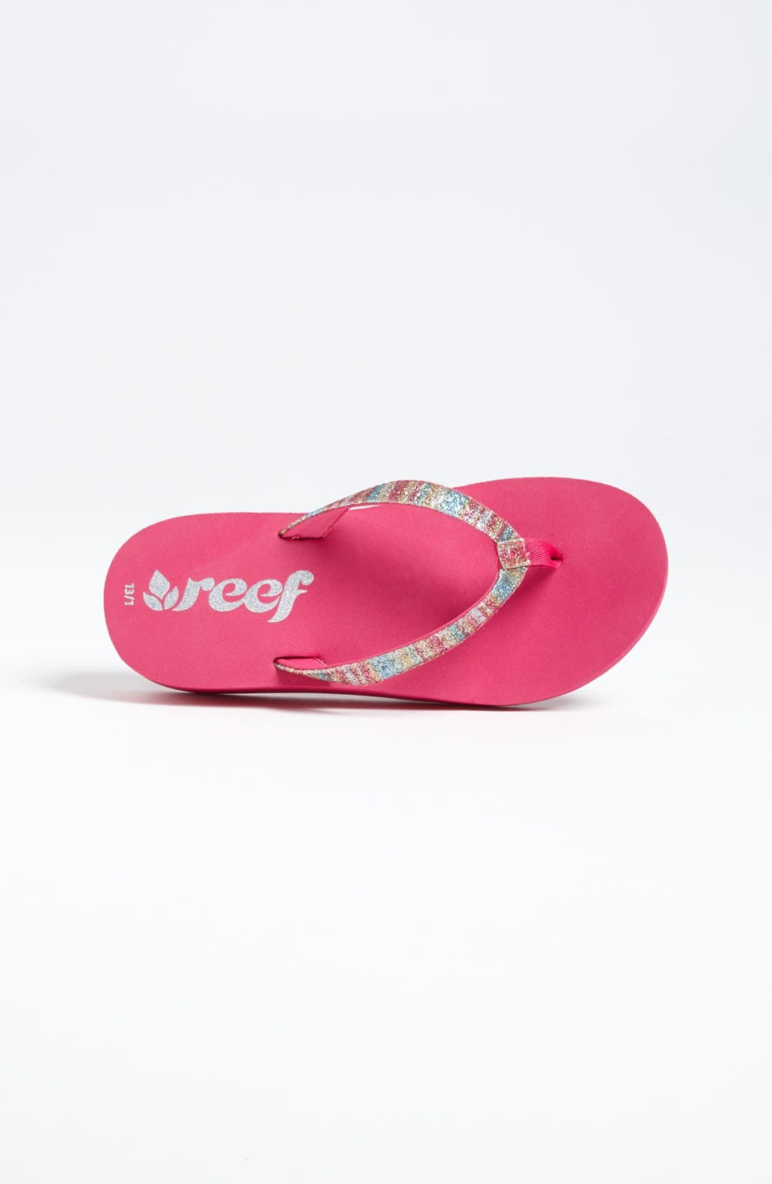 Alternate Image 3  - REEF LITTLE KRYSTAL STAR LUXE SANDAL