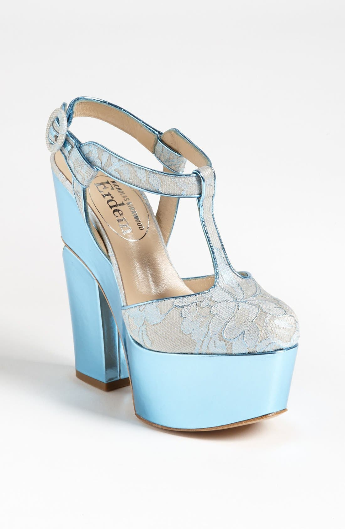 Alternate Image 1 Selected - Nicholas Kirkwood for Erdem Platform Pump