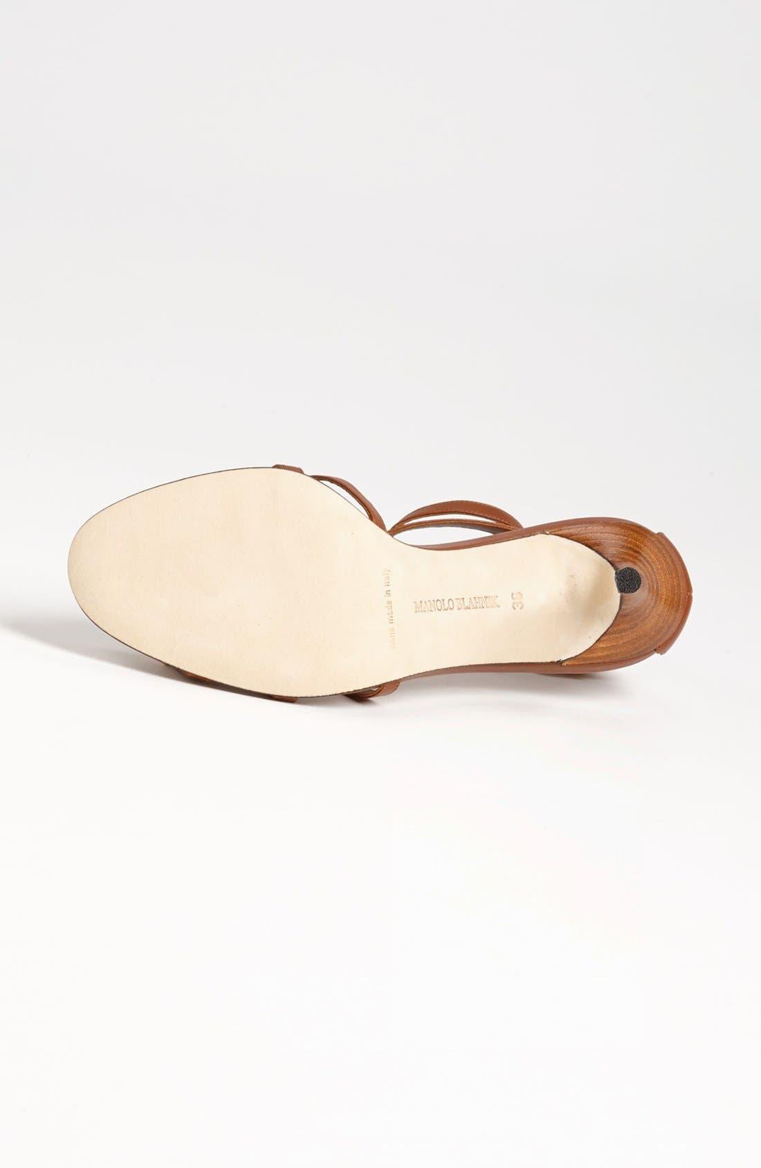 Alternate Image 4  - Manolo Blahnik 'Axes' Sandal