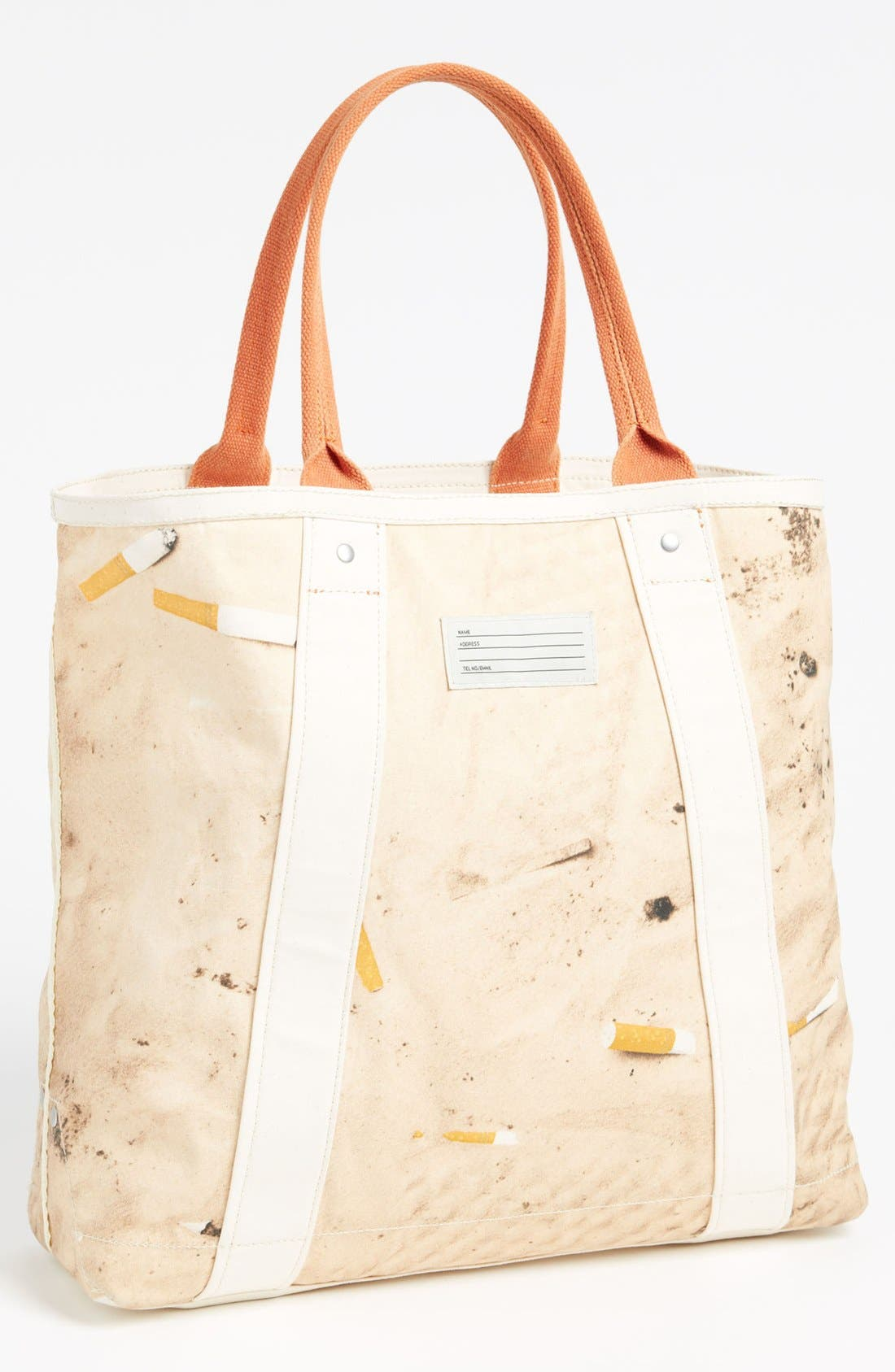 Alternate Image 1 Selected - Jack Spade 'Dirty Beach' Reversible Beach Tote