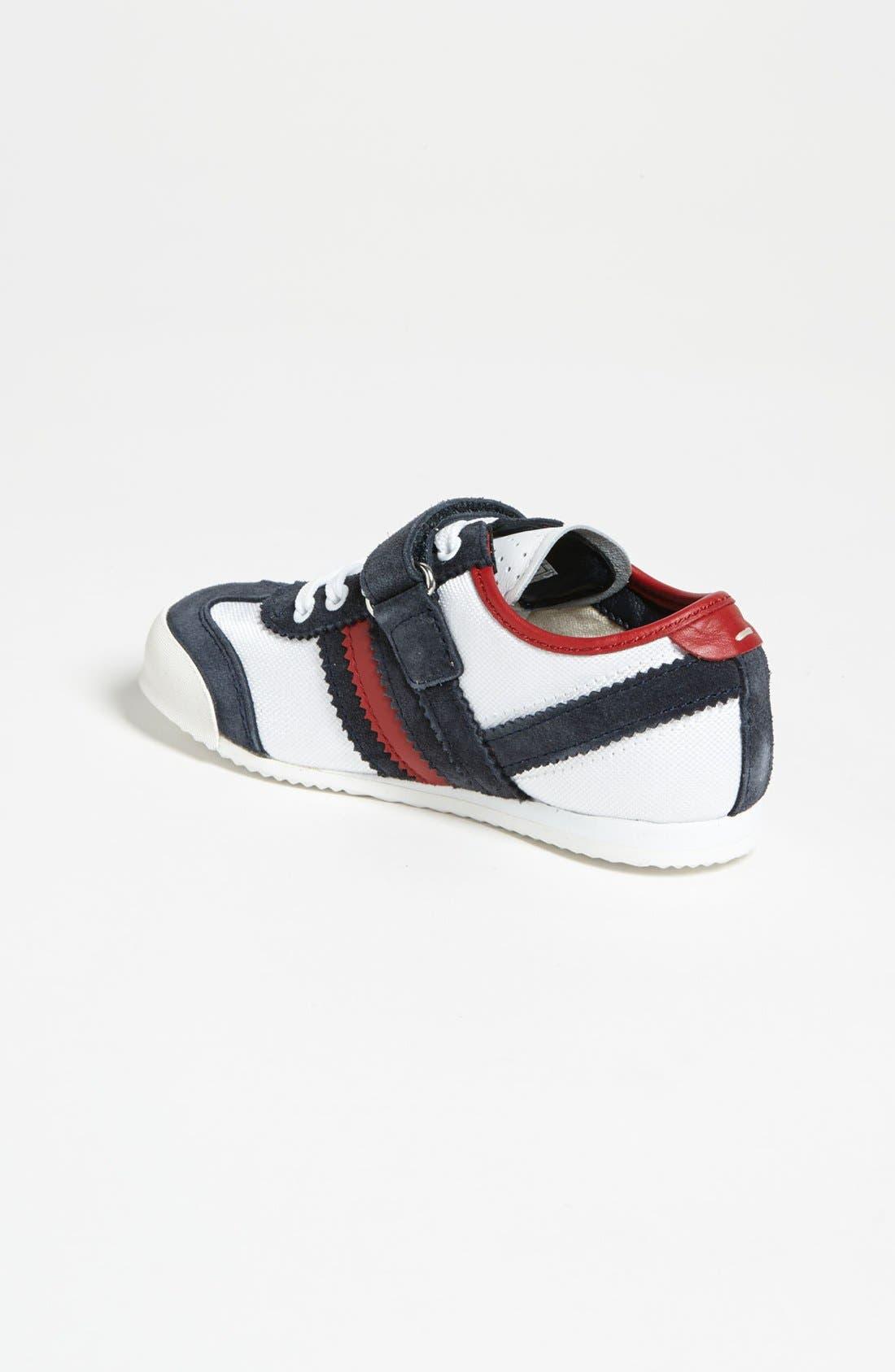 Alternate Image 2  - Dolce&Gabbana Stripe Sneaker (Toddler)