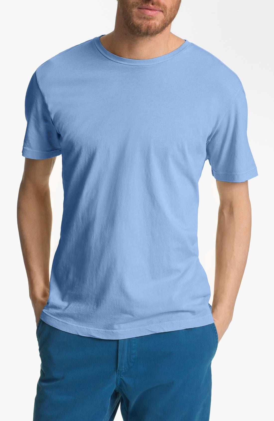 Main Image - Wallin & Bros. Trim Fit Crewneck T-Shirt