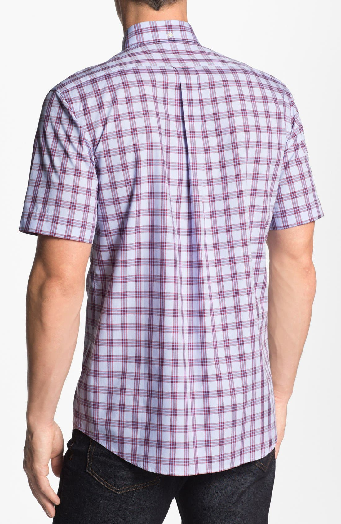 Alternate Image 2  - Façonnable Club Fit Short Sleeve Sport Shirt