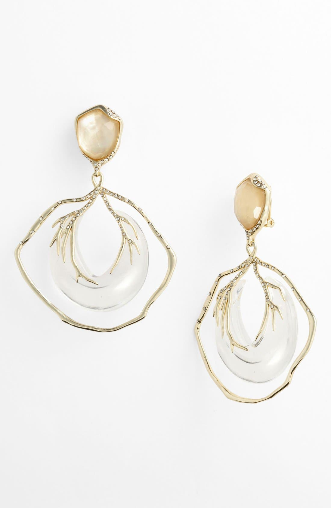 Alternate Image 1 Selected - Alexis Bittar 'Ophelia' Large Vine Clip Drop Earrings