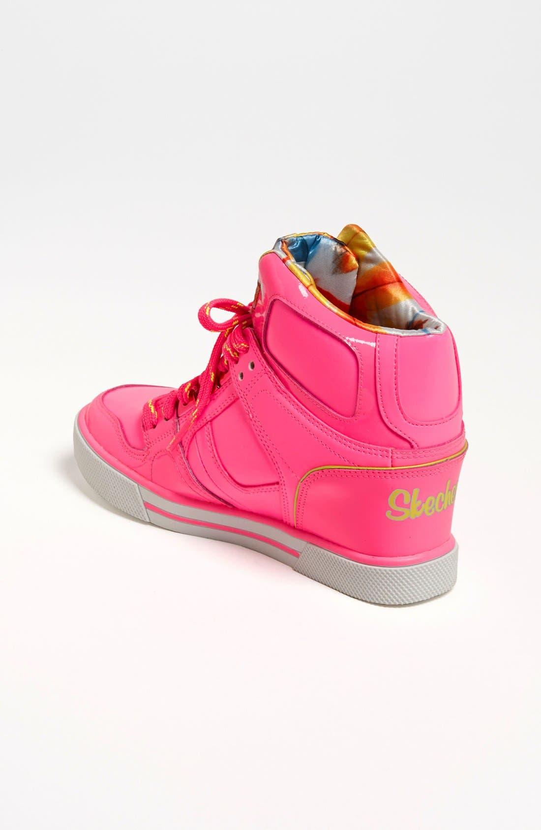 Alternate Image 2  - SKECHERS 'Hydee Hytop Cha-Ching' Sneaker (Toddler, Little Kid & Big Kid)