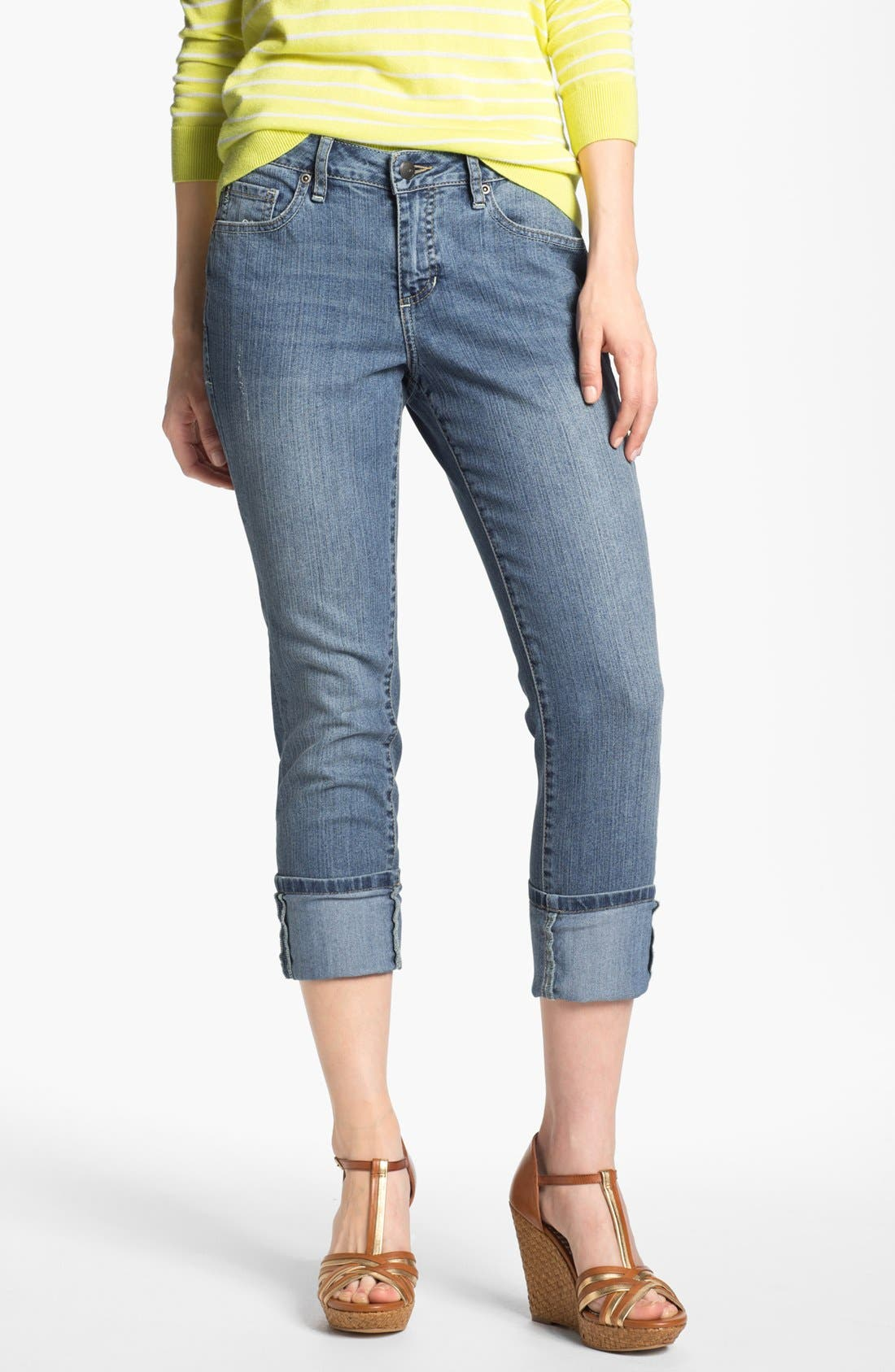 Alternate Image 1 Selected - Jag Jeans 'Tommy' Skinny Crop Boyfriend Jeans