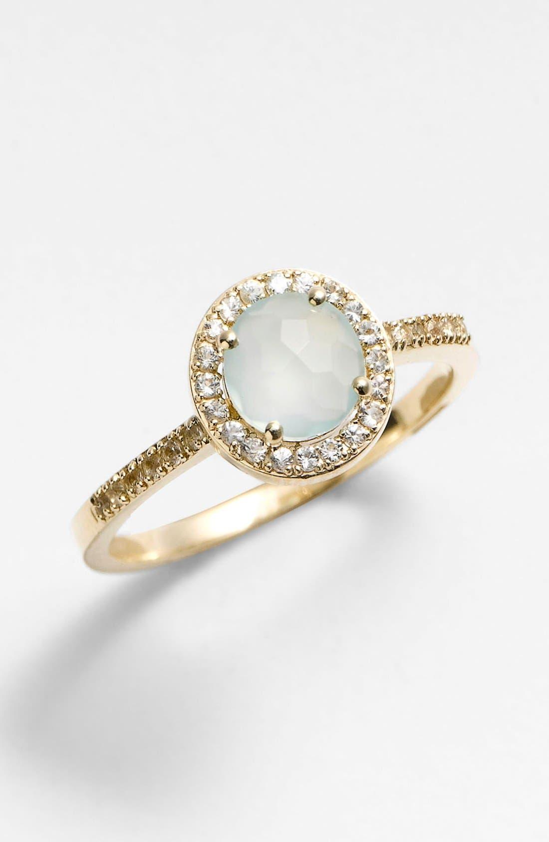 Alternate Image 1 Selected - KALAN by Suzanne Kalan Round Bezel Ring