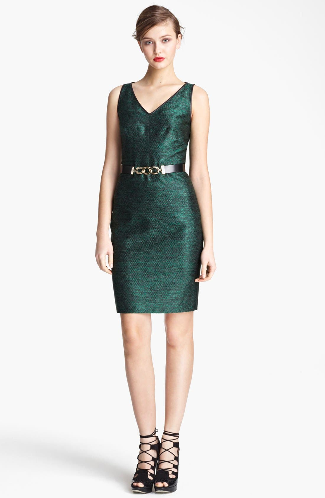 Alternate Image 1 Selected - Jason Wu Belted Sheath Dress