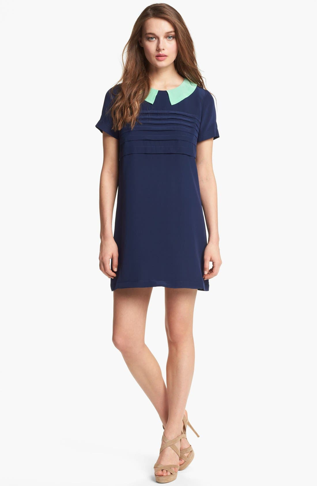 Alternate Image 1 Selected - MARC BY MARC JACOBS 'Bowery' Silk Shift Dress