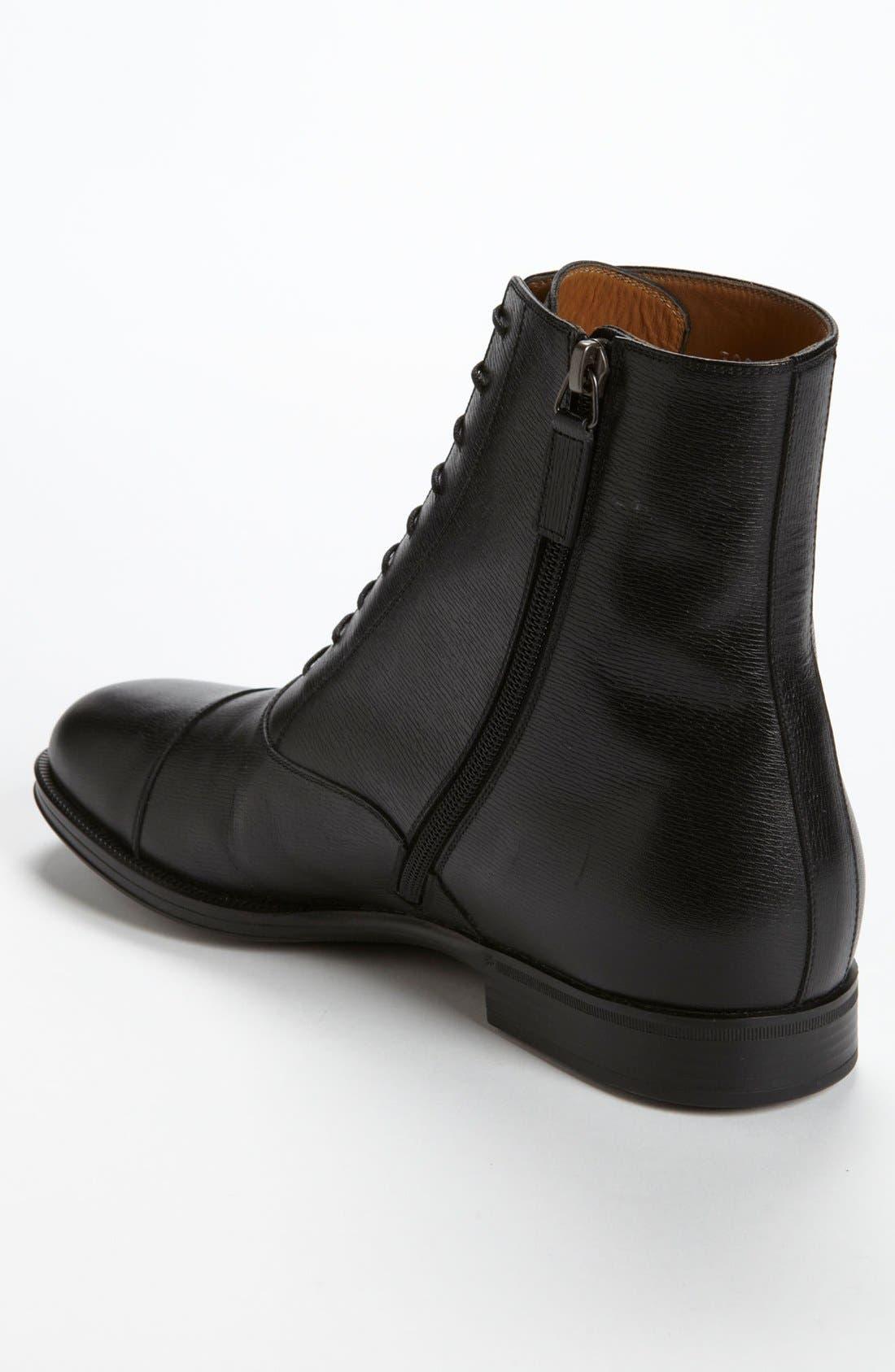 Alternate Image 2  - Gucci 'Handir' Cap Toe Boot
