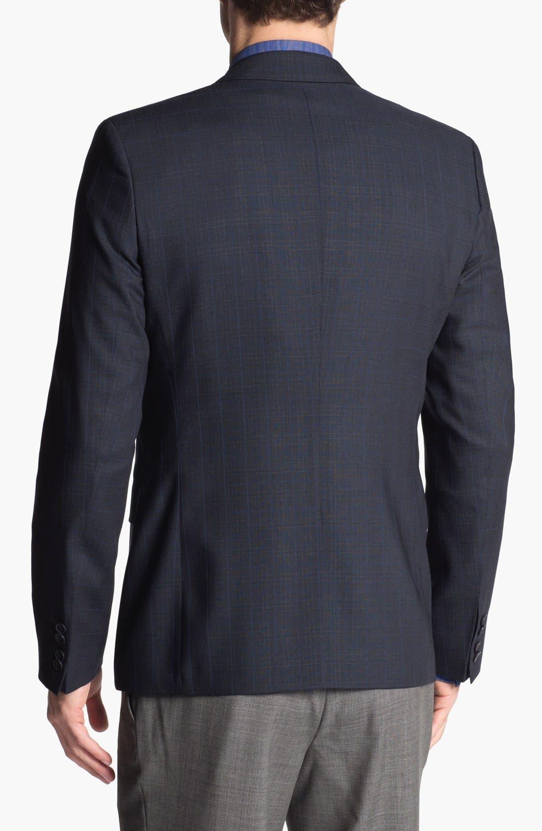Alternate Image 3  - HUGO 'Aeris' Extra Trim Fit Plaid Sportcoat