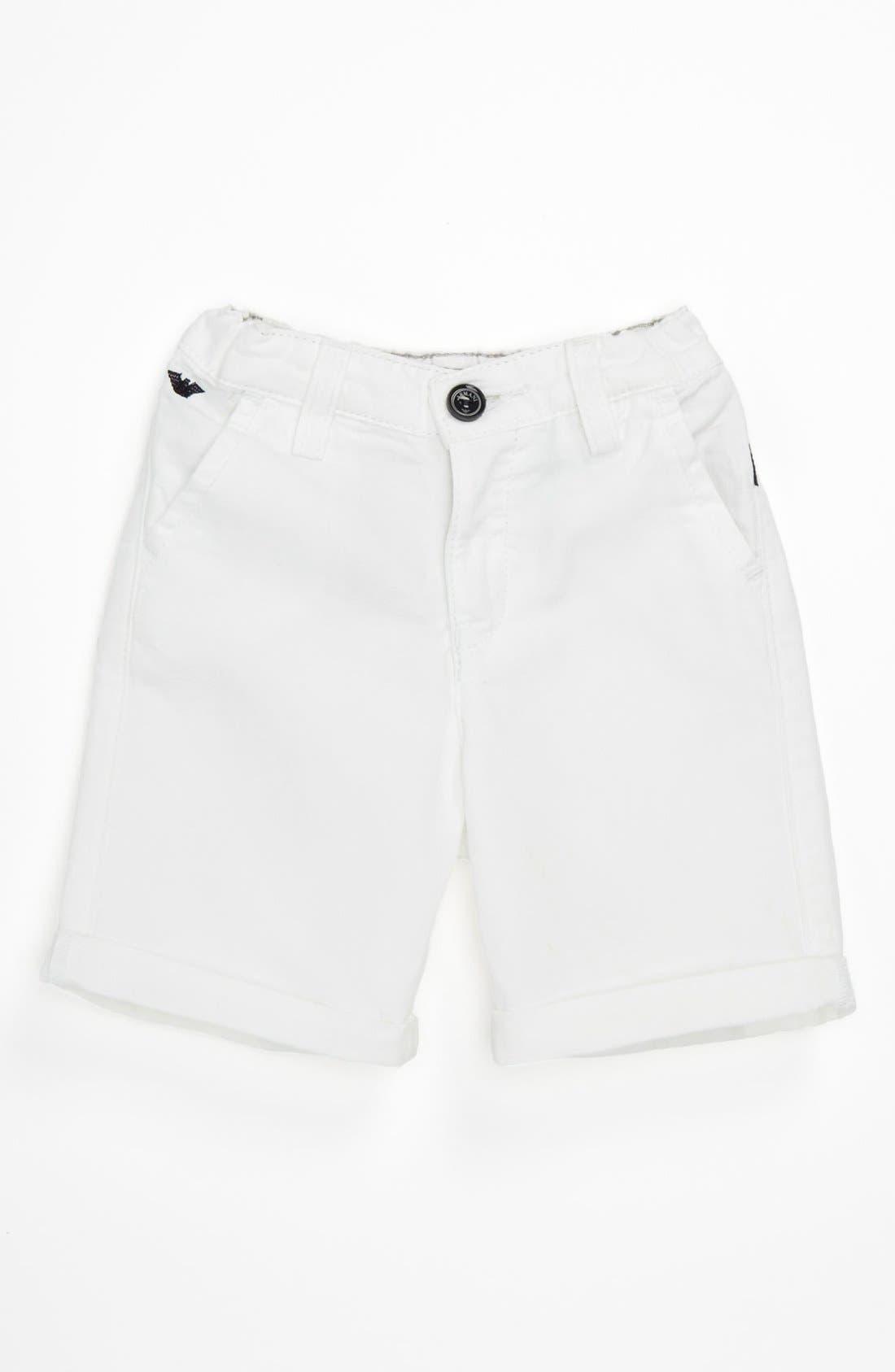 Main Image - Armani Junior Shorts (Baby)