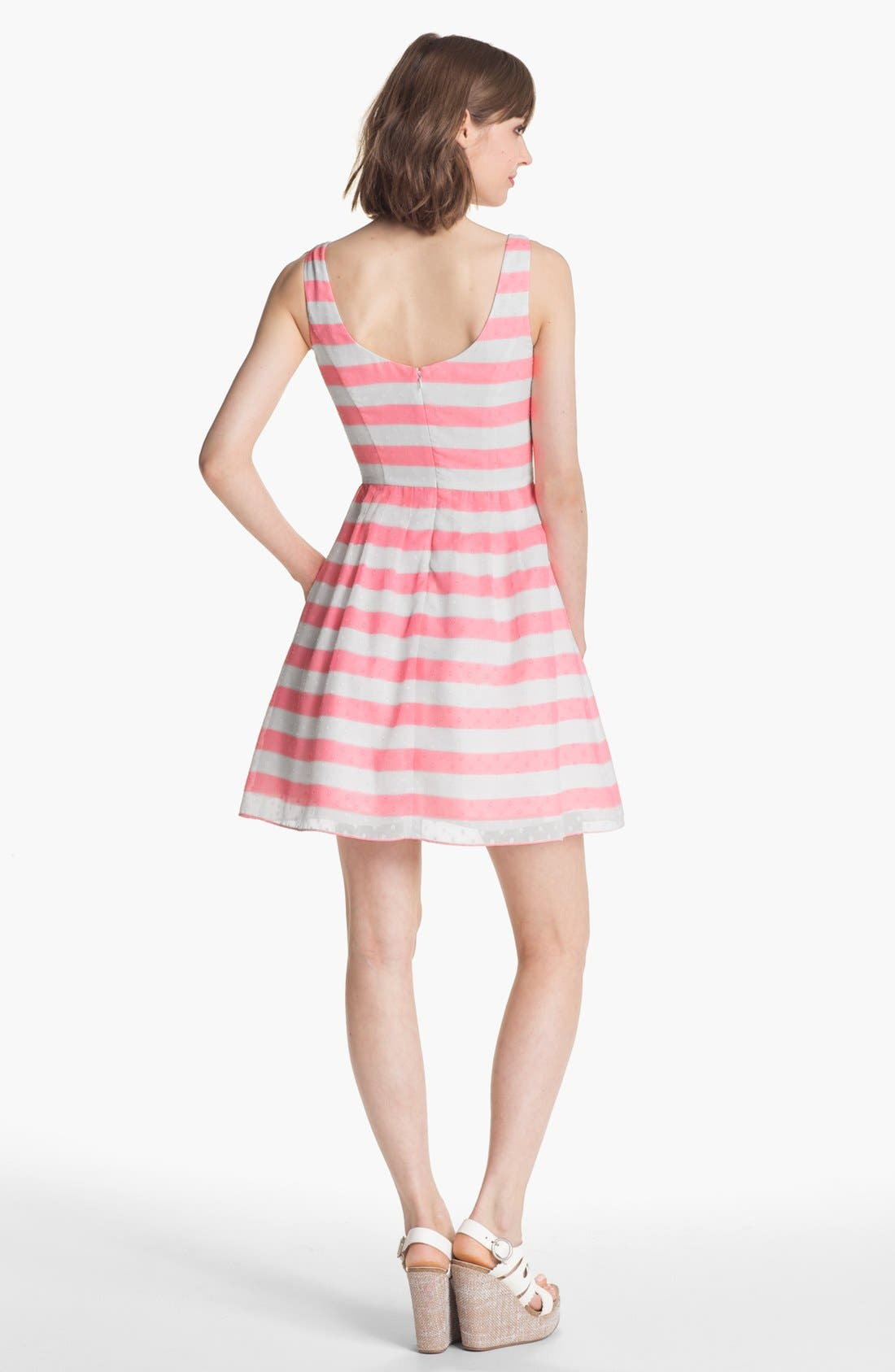 Alternate Image 2  - Lilly Pulitzer® 'Posey' Stripe Fit & Flare Dress