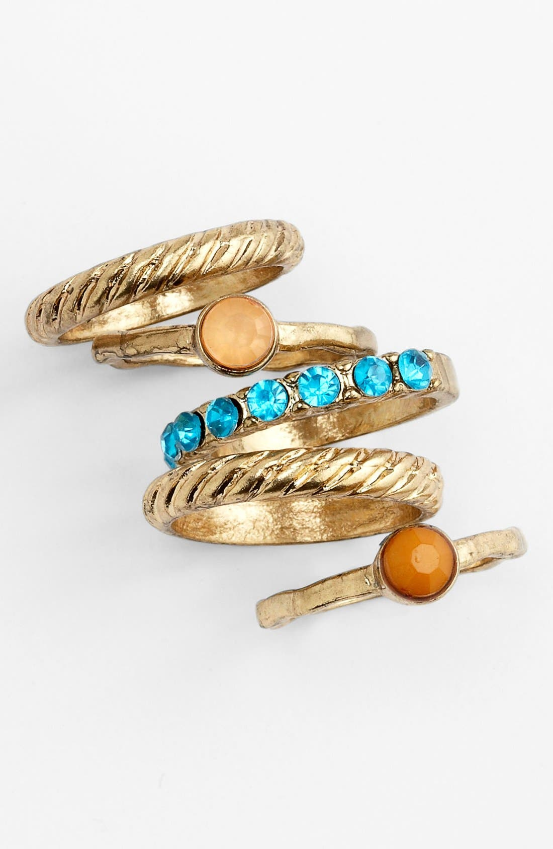 Main Image - Carole Stackable Rings (Set of 5)